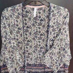 Xhilaration Kimono Cover up, Extra Small/Small